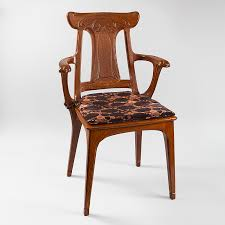 art nouveau furniture images. french art nouveau armchair by eugène gaillard furniture images f