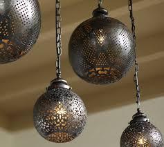 outdoor moroccan lighting. Moroccan Indoor/Outdoor Pendant Outdoor Lighting Pottery Barn