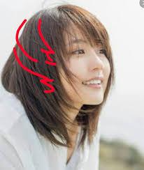 丸顔や下膨れに似合う髪型について Inside ミディアム 髪型 レディース