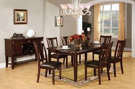 espresso dining table and chairs. amazon.com - furniture of america anlow 7-piece dining table set with 18-inch expandable leaf, espresso \u0026 chair sets and chairs a