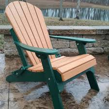 all weather adirondack chairs fan back all weather poly chair woodland green cedar best all weather