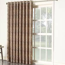 Single Curtain Patio Door Drape Single Ideas for Sliding Glass Door ...