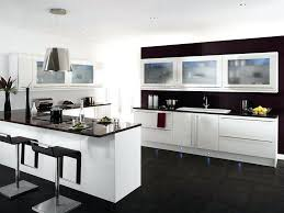 modern white and black kitchens. Beautiful Black White Kitchen Cabinets With Black Countertops  For Modern White And Black Kitchens I
