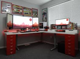 home office computer setup. Home Office Battlestation - Imgur Computer Setup T