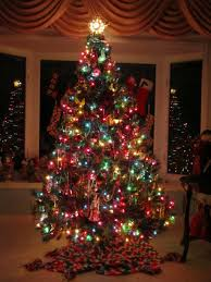 christmas tree lighting ideas. Hanging Right Christmas Tree Lights : Traditional With Colorful And Decorations Also Lighting Ideas S