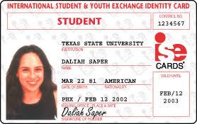 Student Card International International Student Id