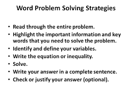 Inequalities Word Problems Worksheet With Answers Worksheets for ...