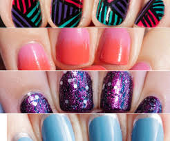 Famed Easy Nail Designs To Do At Home As Wells As Short Nails ...