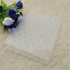 diamond plastic embossing folders for diy sbooking paper craft card making decoration supplies
