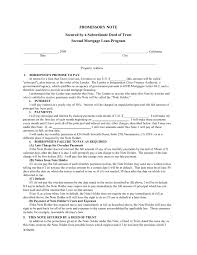Deed Loan Agreement Useful Best S Of Secured Mortgage Note Sample