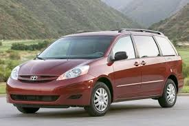 Image result for 2007 toyota sienna images red