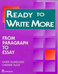 ready to write more from paragraph to essay 9780201878073 ready to write more from paragraph to essay
