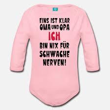 Baby Oma Opa Schwangerschaft Baby Bio Langarmbody Spreadshirt