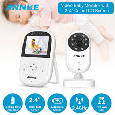Cleansale US:Home Security Wifi Baby Monitor 2.4in Displayer Night ...