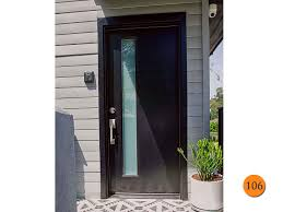 modern 32 x80 plastpro dms1l fiberglass exterior door installed in los angeles