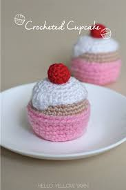Crochet Cupcake Pattern New Free Crochet Cupcake Pattern At Httphelloyellowyarn4848