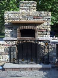 diy outdoor brick fireplace best of 17 inspirational diy outdoor fireplace with pizza oven