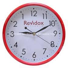 crafts backwards running wall clock
