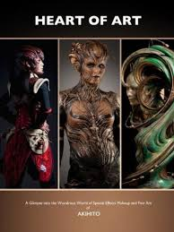 the heart of art is the artbook that features the special effects makeup and fine art of anese artist akihito ikeda he has worked on many big name