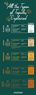 All The Types Of Tequila Explained Infographic Tequila
