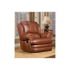 williford leather swivel rocker recliner chair