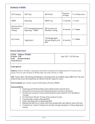 60 Recent Sample Etl Testing Resume Template Free