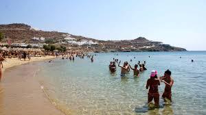 Paradise Beach Mykonos Music Vibe - YouTube