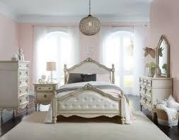 antique white bedroom sets. Standard Furniture Giselle 4-Piece Upholstered Poster Bedroom Set In Antique  White Antique White Bedroom Sets R