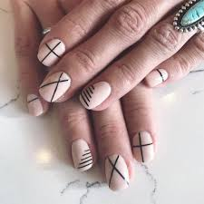 Difficult Nail Art Designs Lines Are Difficult To Draw Straight But Once You Get It