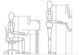 ergonomic desk setup. Ergonomic Workstation Desk Setup N