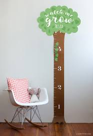 Kindergarten Height Chart Printable Height Chart For Kids Lia Griffith