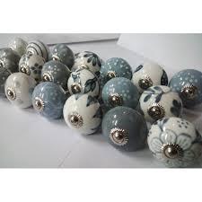 door knobs. 10 Grey \u0026 White Cream Mixed Ceramic Door Knobs Handles Pulls. Loading Zoom