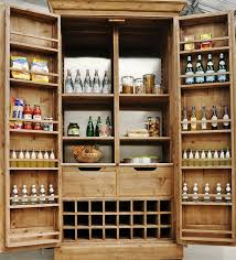 free standing kitchen pantry. Best Free Standing Kitchen Pantry For Bottles And Spices On Door Sides N