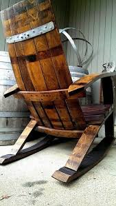wine barrel rocker with built in wine glass holder wine barrel furniture wine glass holder glass holders and rockers