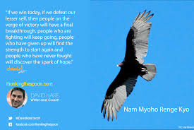 chanting nam myoho renge kyo why it works is depression always an illness a buddhist view of robin williams