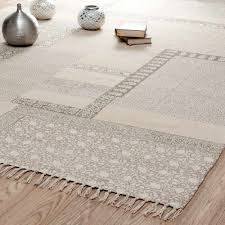 tapis maisons du monde pour la deco salon ou chambre cosy