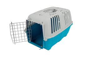 Light Blue Dog Crate Pratiko 1 Metal L48xw31 5xw33 S Baby Blue