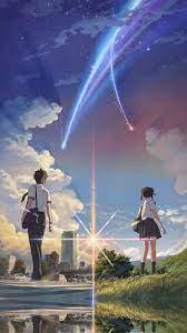 Anime Film Yourname Sky Illustration ...