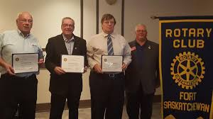 Volunteers Recognized for their Operation Red Nose Service   Rotary Club of  Fort Saskatchewan