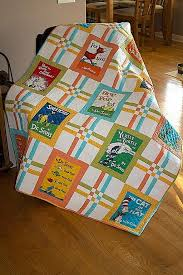 Celebrate Seuss - Crib/Toddler Baby Quilt | Crib, Panel quilts and ... & Celebrate Seuss - Crib/Toddler Baby Quilt Adamdwight.com