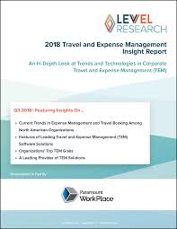 Paystreams 2018 Travel And Expense Management Report