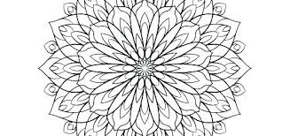 Floral Coloring Pages For Adults Psubarstoolcom