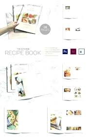 Homemade Cookbook Template Recipe Card Binder Ftcstartupweek