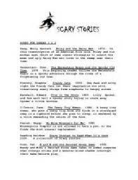 scary story essay a scary story essay