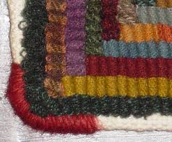 there are many was to finish a hooked rug from simple hemming to elaborate crocheted or trimmed edges how the piece will be used is the most important