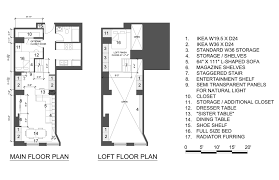 New York Studio Apartments Floor Plan And Apartment Floor Plan - Loft apartment floor plans