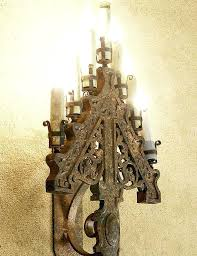 sconces gothic wall sconces engaging sconce deals for style pottery barn bathroom ideas large size