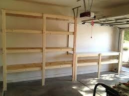 garage shelves diy garage shelves hanging garage shelves diy