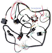 zongshen 250 parts accessories complete electrics wire harness wiring cdi stator 200 250 zongshen 2 hole