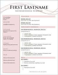 Current Resume Styles New Resume Styles Fabulous Resume Template Ideas